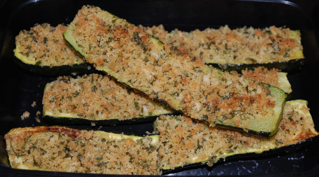 parmesan roasted zucchini  stolenrecipes